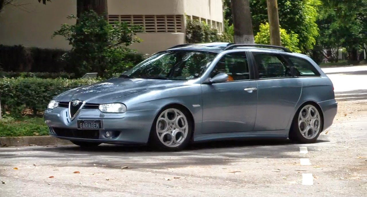Gravacao Do Dia Alfa Romeo 156 Sw V6 Garagem Do Bellote